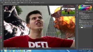 Como recortar imagem - Adobe Photoshop CS6