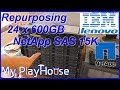 How to Reformat NetApp HDD to 512B Sector Size - 552