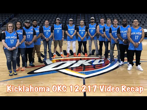 The OKC Thunder Presents Kicklahoma at Chesapeake Energy Arena 12.2.17