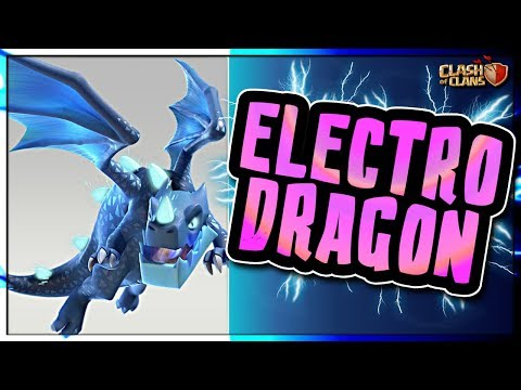 NEW TROOP | ELECTRO DRAGON | STATISTICS and ATTACKING | Clash of Clans TH12 Update