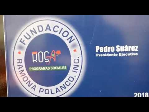 24 soluciones habitacionales en Castillo. El INVI y la Fundación Doña Rosa (Ramona Polanco) construyeron casas para los pobres.