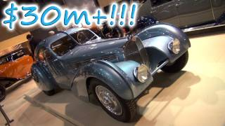 The Most Expensive Car in the World: Bugatti 57SC Atlantic