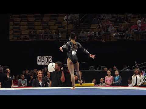 Morgan Hurd – Floor Exercise – 2018 U.S. Gymnastics Championships – Senior Women Day 2