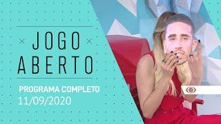 JOGO ABERTO - 11/09/2020 - PROGRAMA COMPLETO
