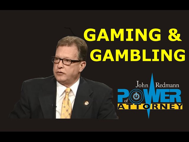 Gaming, Gambling, and the Law
