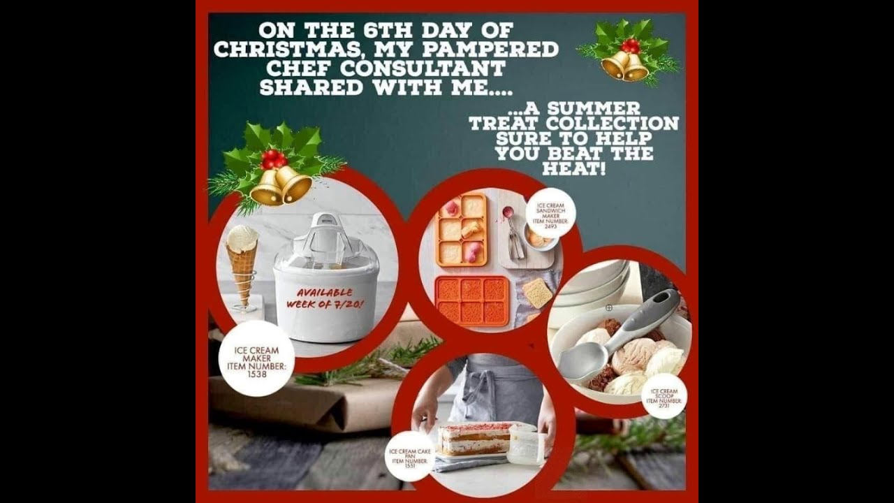 Pampered Chef 12 Days Of Christmas Gift Ideas Youtube