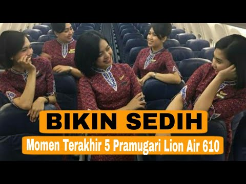 Pengen Nangis, Inilah Momen Ke-lima Pramugari Cantik Lion Air