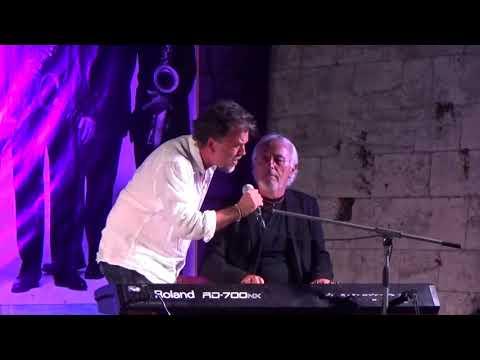 Oliver, Hauser i Gibo :) Vela Luka Open Jazz festival 2015.