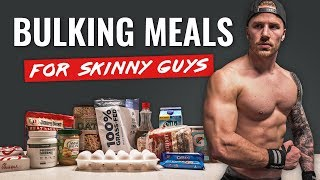 Easy BULKING Meals for Skinny Guys (FULL DAY + TIPS!)