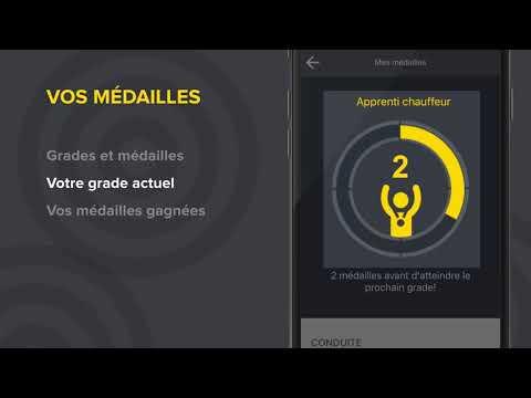 Tutoriel Appi - Vos médailles- Promutuel Assurance