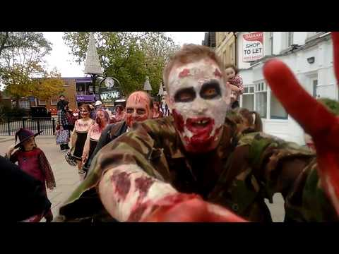 The Peterborough Zombie Walk 2017