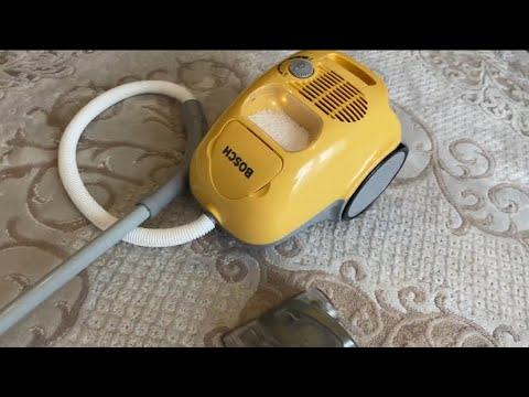 Bosch Oyuncak Elektrik Süpürgesi Mini Mis Evi Süpürüyor   Gerçek Elektrik Süpürgesiyle de Süpürdük