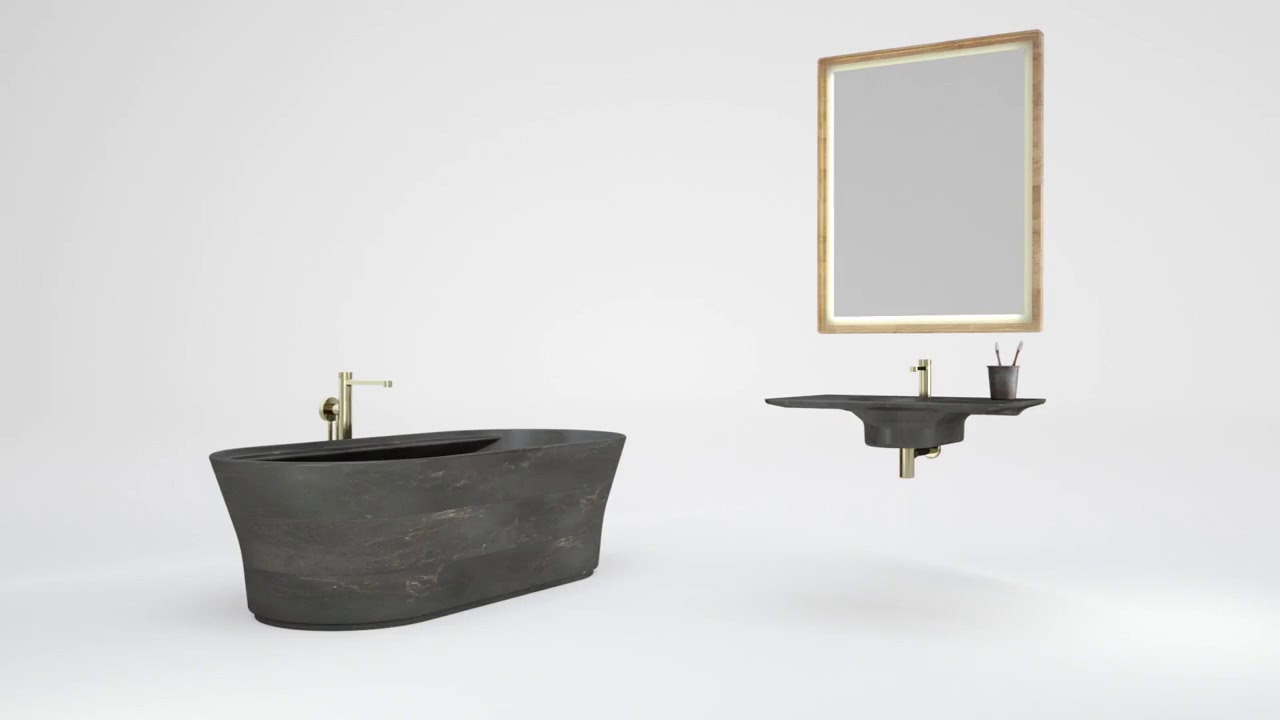 Tono A bathroom Collection by PORCELANOSA Grupo & Foster Partners ...