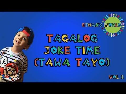 Ethan's TAGALOG Joke Compilation (Volume 1)