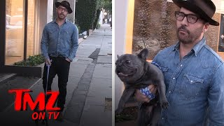 Jeremy Piven Forgets His Dog In The Car While He Goes To A Restaurant | TMZ TV