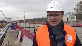 Zweite Schleusenkammer in Trier geflutet