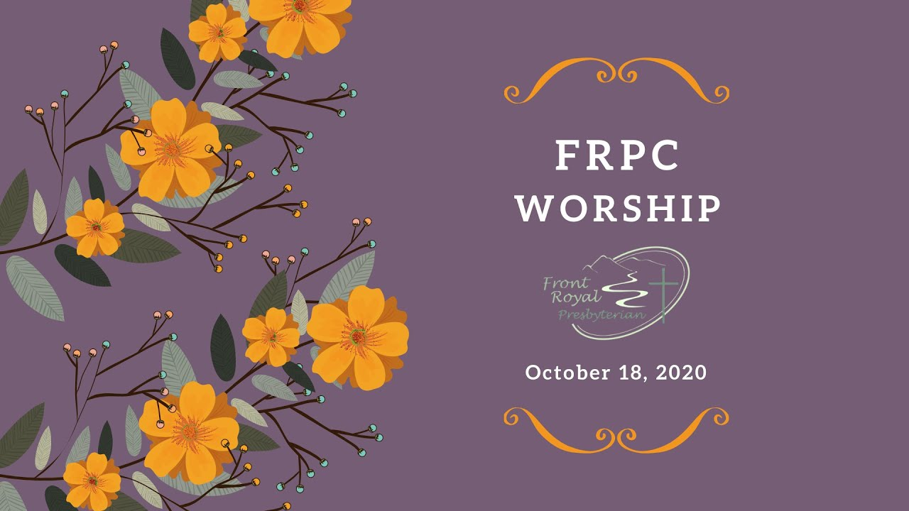 FRPC  October  18, 2020