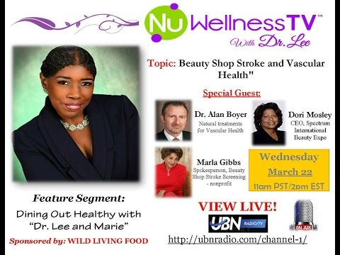 Beauty Shop Stroke Screening and Vascular Health - NuWellness TV with Dr. Cherilyn Lee