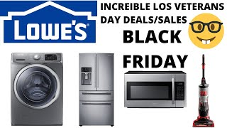 VETERANS DAY SALES EN LOWES/BLACK FRIDAY (2019) COMPRAMOS UN REFRIGERADOR/AVISO DE ULTIMA HORA*TIPS*