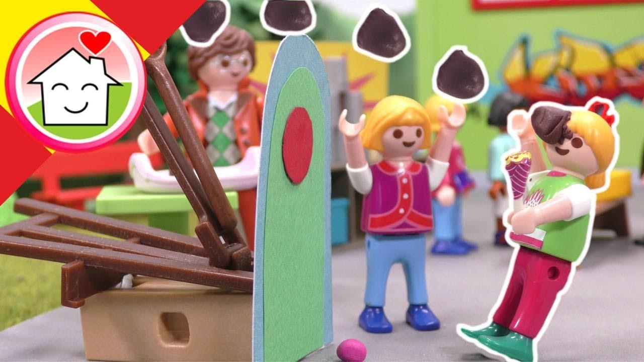 Playmobil en español El festival escolar - Familia Hauser