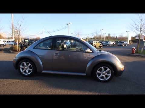 2004 Volkswagen Beetle 1.8T | Gray | 4M418205 | Everett | Snohomish