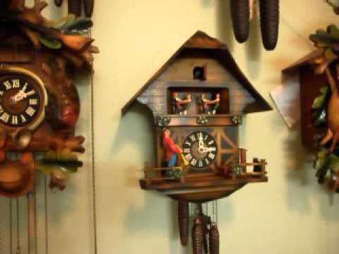 Trumpeter Cuckoo Clock By Ghs For Sale Uk Doovi