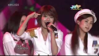 [Live] SNSD 소녀시대 Girls' Generation - Boyfriend @ Muzic Bank