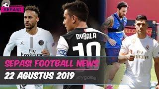 Dybala Gantikan Neymar ? 😲 Messi Pulih dari Cidera 😊 Fiorentina Resmikan Ribery ⚽ Berita Bola