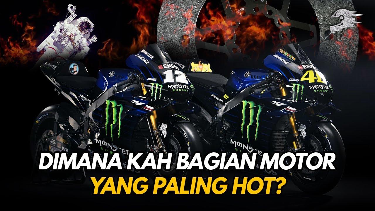 Tahukah Kamu, Seberapa Panas Komponen Komponen yang Ada di dalam Motor MotoGP ?
