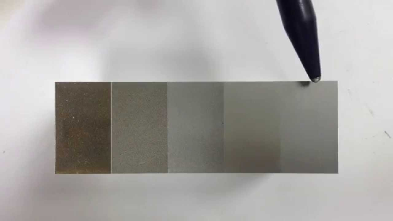 Surface Finish 5 Pass Cut