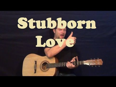 Stubborn Love (The Lumineers) Easy Guitar Lesson How to Play ...