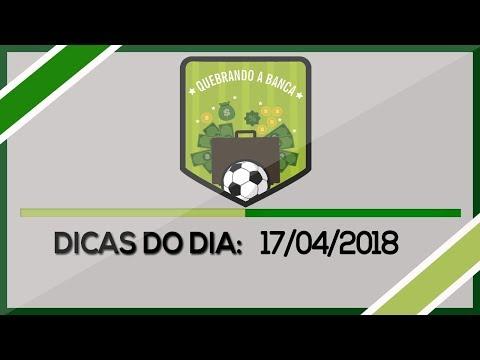 QUEBRANDO A BANCA: Dicas do dia 17-04