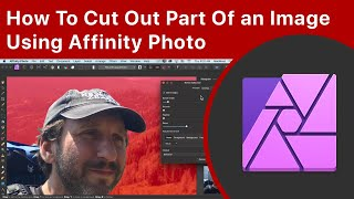 How To Cut Oขt Part Of an Image Using Affinity Photo