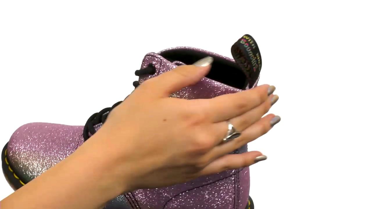 Dr. Martens Pascal Glitter 8-Eye Boot