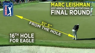 By the Numbers: Marc Leishman's clutch eagle at Arnold Palmer