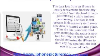 IPhone picture recovery software