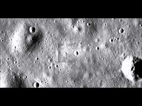 Apollo 11 Landing Site - Zoom In And Out