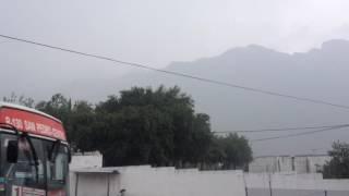 Fuerte Tormenta en Monterrey, Junio 4, 2016 / Strong Storm in Monterrey, June 4th, 2016