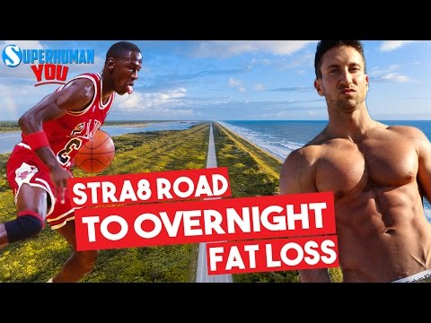 Michael Jordan Overnight Fat Loss Workout | Get SHREDDED Like MJ | BEST Workout For FAT LOSS!