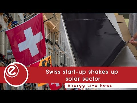 Swiss start-up shakes up solar sector