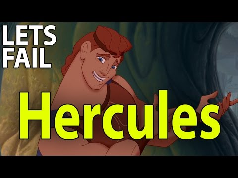 LETS FAIL: Hercules (1997) || Everything Wrong With Disney Movie || Goofs Mistakes Jokes
