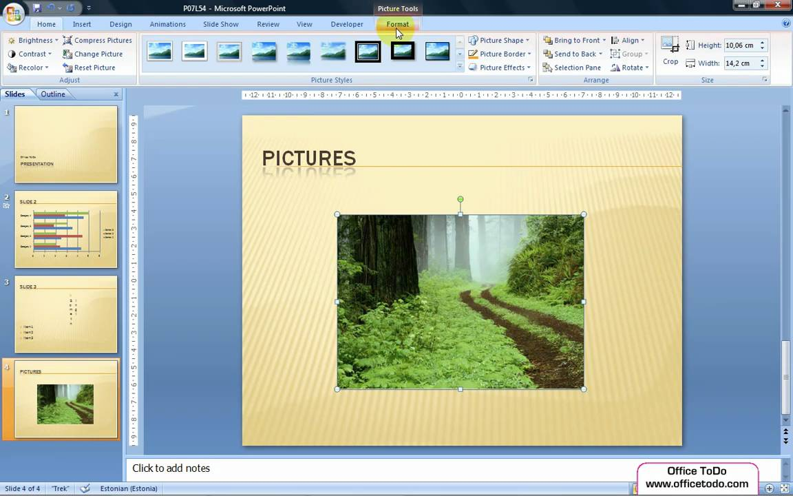 Powerpoint how to rotate an image on a slide youtube powerpoint how to rotate an image on a slide ccuart Choice Image