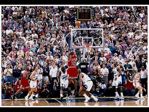 "Michael Jordan ""Final Shot"" (1998 NBA Finals Game 6 Full 4th Quarter)"