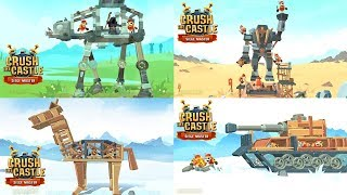 Crush the Castle: Siege Master Walkthough All Levels 01 - 101 (All 3 Stars)