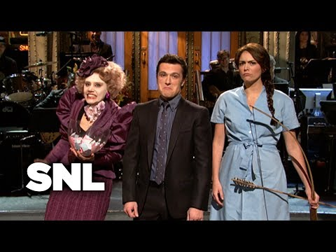 Monologue: Josh Hutcherson and the SNL Hunger Games  SNL