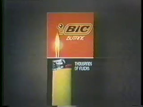 Bic Lighter 1975 Commercial