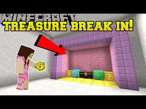 Minecraft: TREASURE ROOM BREAK IN!!! - CHUNK RESTORE - Custom Map [2]