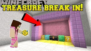 Minecraft: TREASURE ROOM BREAK IN!!! - CHUNK RESTORE - Custom Map [2]