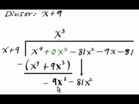 Precalculus How to divide polynomials using Long Division 2 3 remainder  factor synthetic