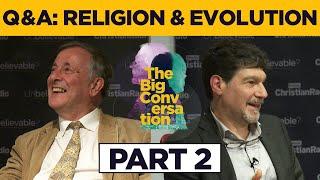 Alister McGrath & Bret Weinstein • Audience Q&A on religion and evolution PART 2